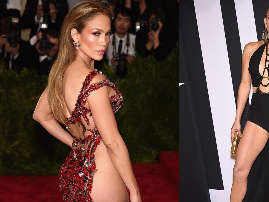 Jennifer Lopez's best almost nude moments