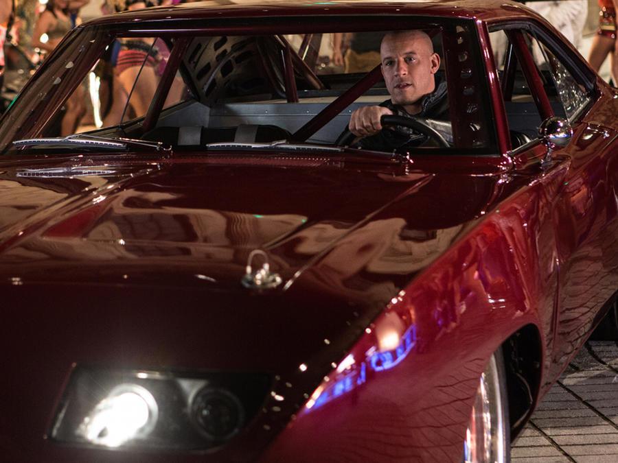 """Vin Diesel en la película """"Fast and Furious 6""""."""