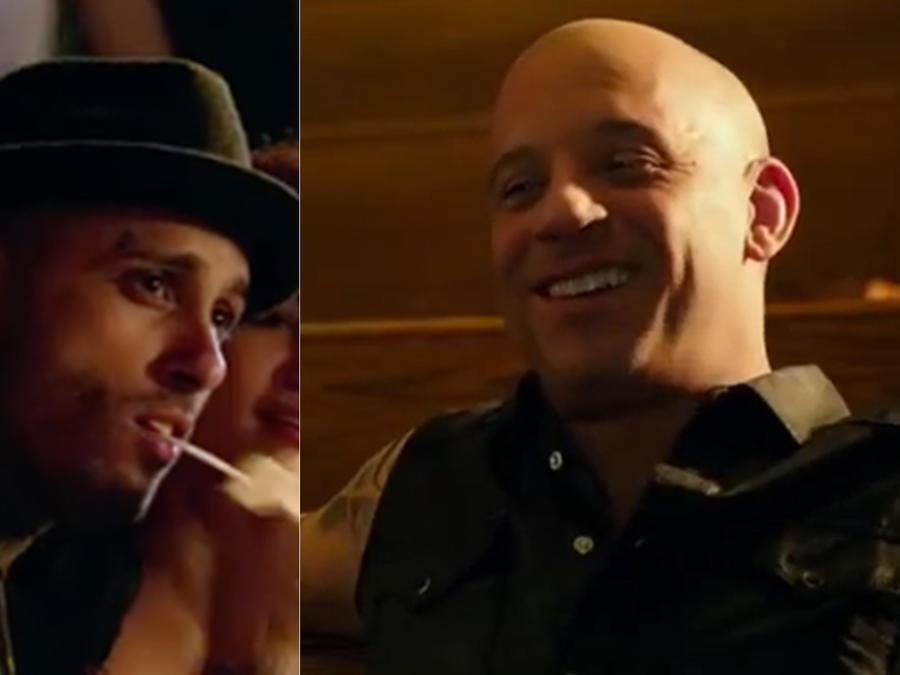Nicky Jam debuta en la pantalla grande junto a Vin Diesel.