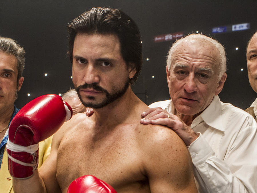 "Édgar Ramírez en ""Hands of Stone""."