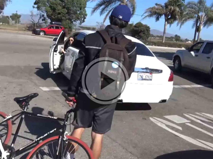 Kylie Jenner podría haber atropellado a un ciclista