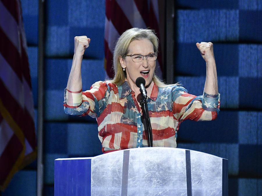 """Meryl Streep: """"Ella será la primera, pero no la última"""""""