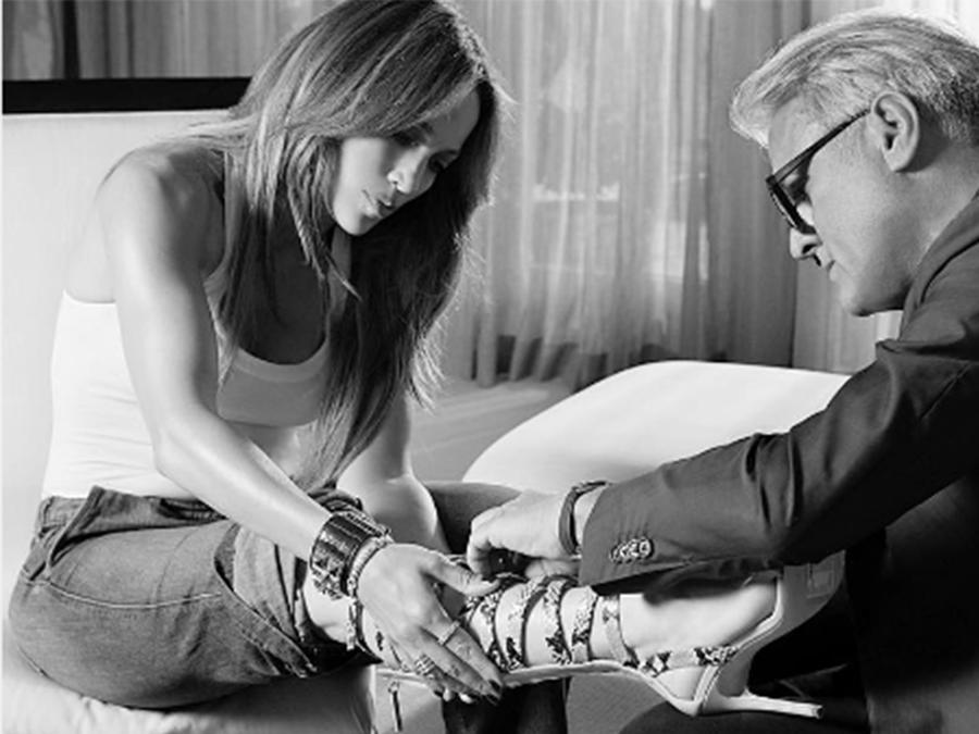 Jennifer López diseñará una línea de zapatos para Giuseppe Zanotti