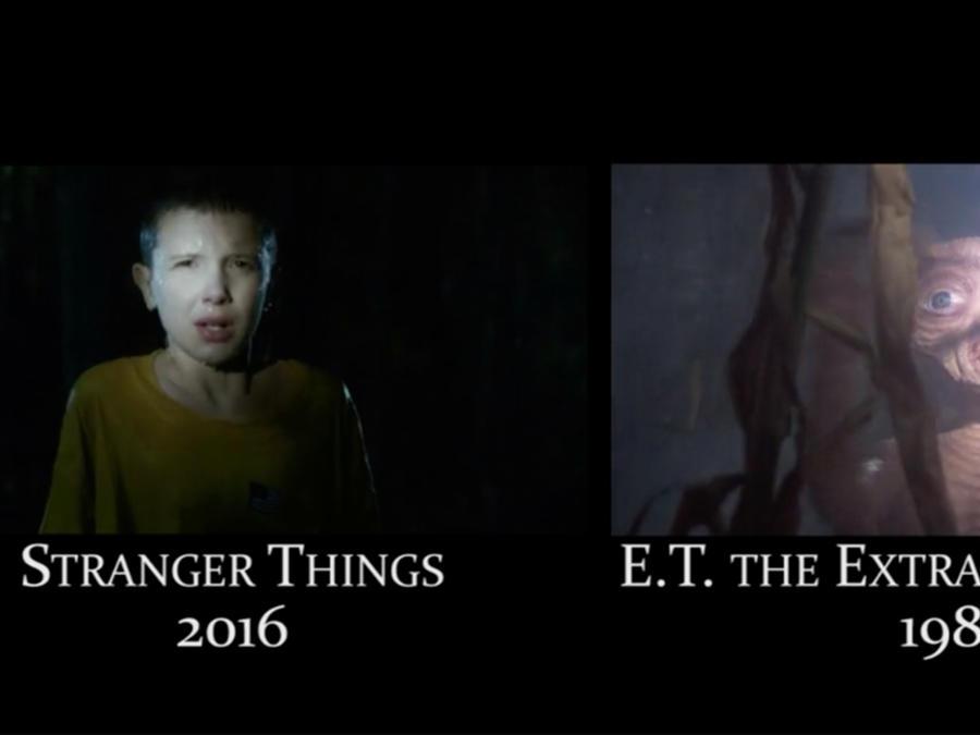 """imilitudes que tiene """"Stranger Things"""" con clásicos del cine como """"E.T."""""""