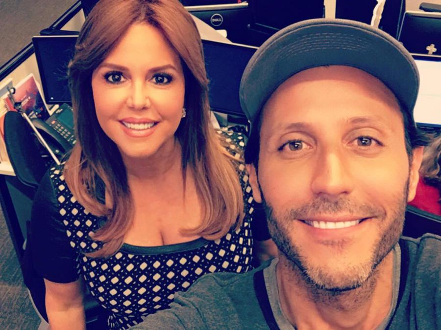 Quique Usales y Maria Celeste Arrarás Al Rojo Vivo You Now Telemundo 2016