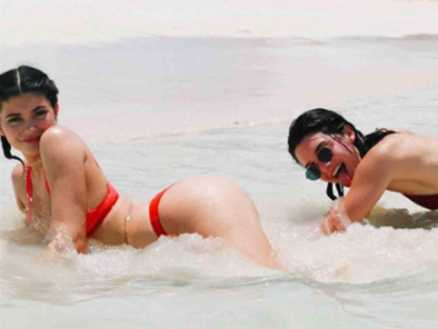 Kylie Jenner y Kendall Jenner en Turks and Caicos