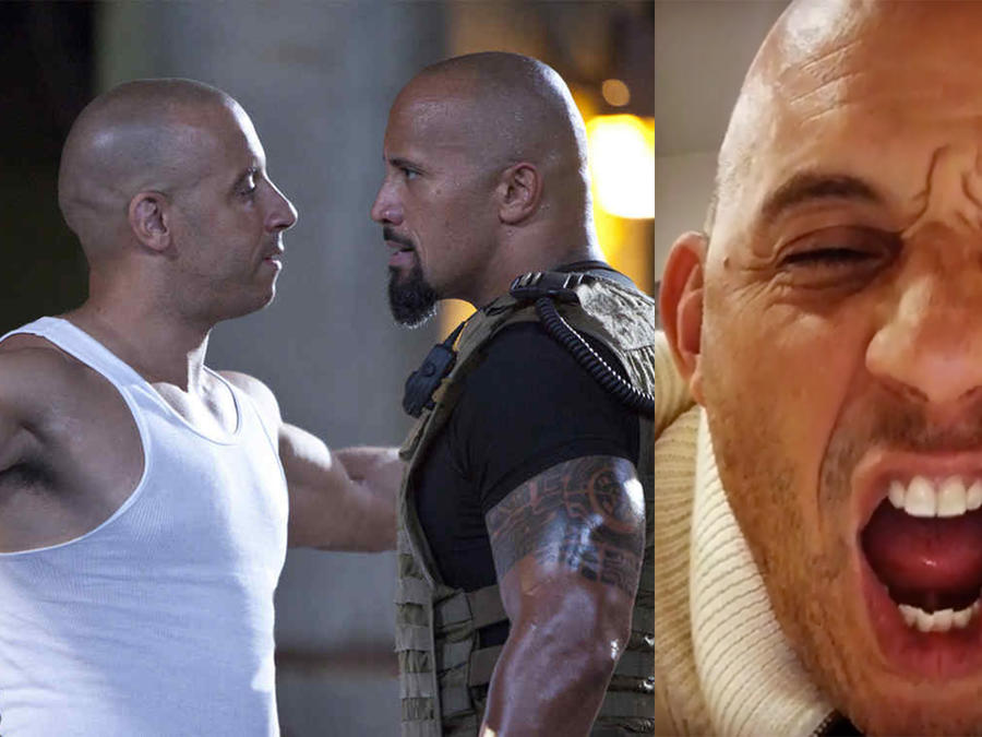 Vin Diesel vs Dwayne The Rock Johnson