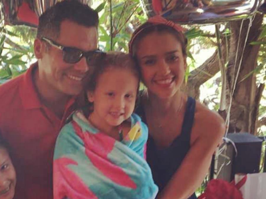 Jessica Alba le celebra el cumpleaños a su hija Haven con una fiesta de Sandía