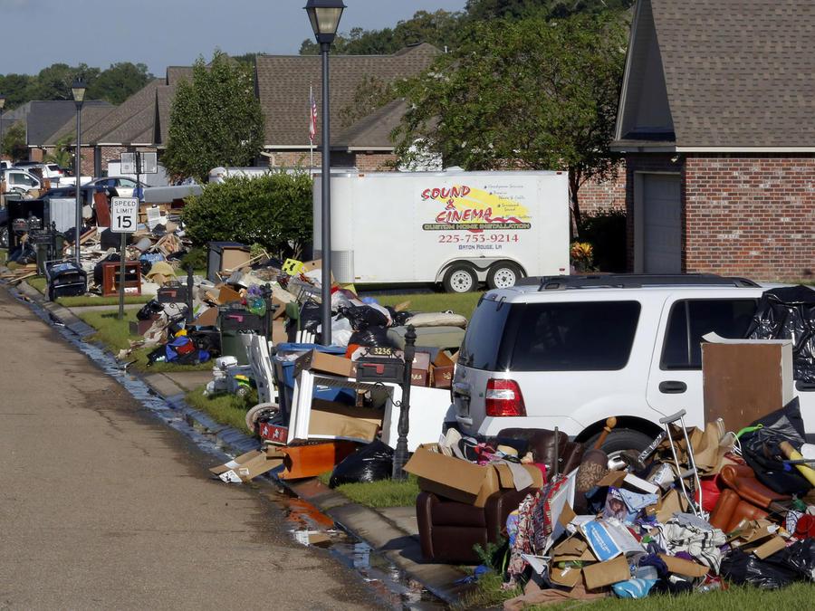 inundaciones escombros