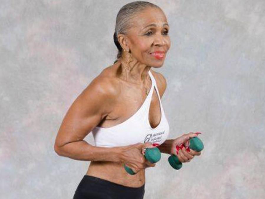 Ernestine Shepherd es la mujer fisiculturista más longeva del mundo