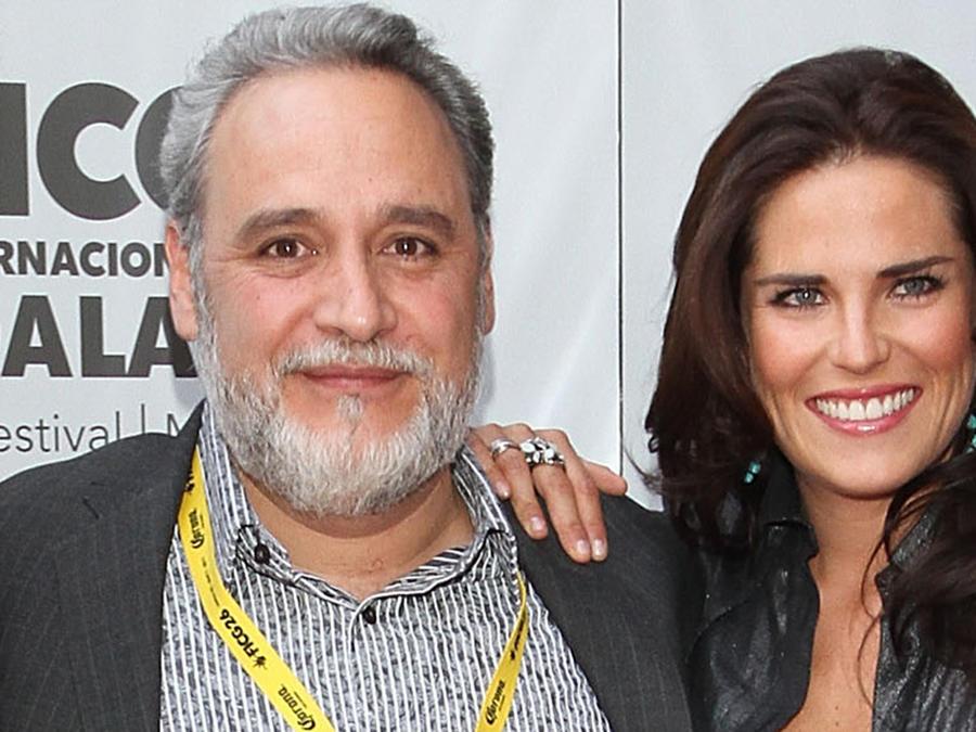 Leon Serment y Karla Souza