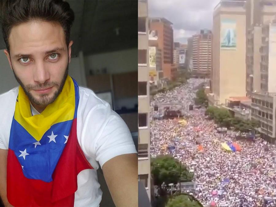 Las celebridades reaccionan a la Toma de Caracas del 1ro de septiembre