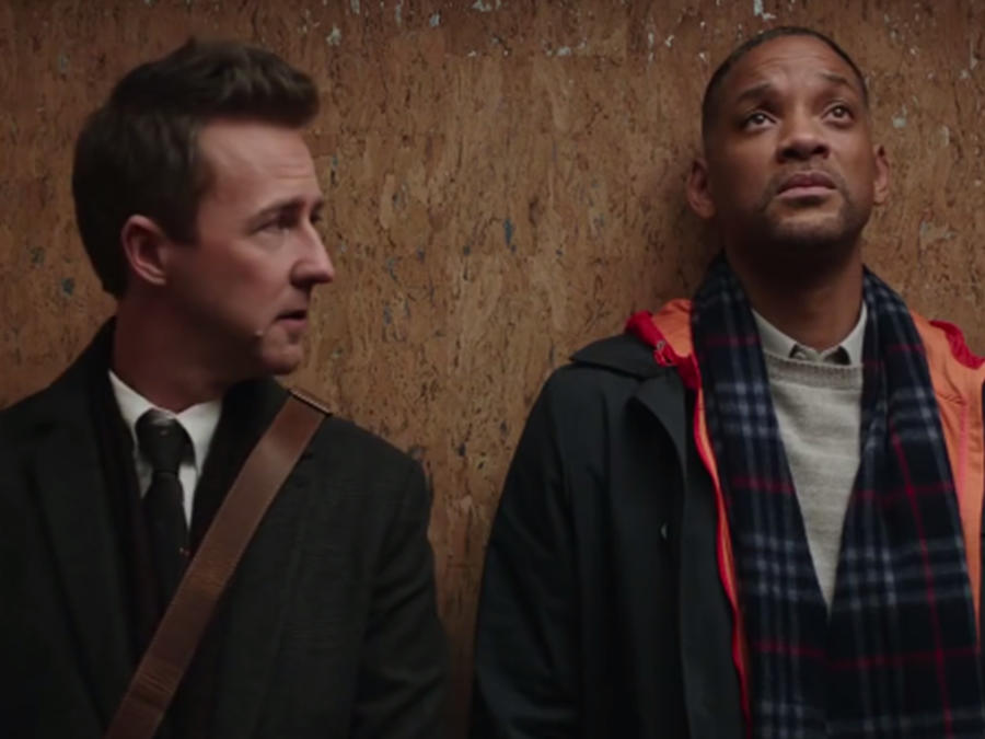 "Will Smith en la película ""Collateral Beauty"""