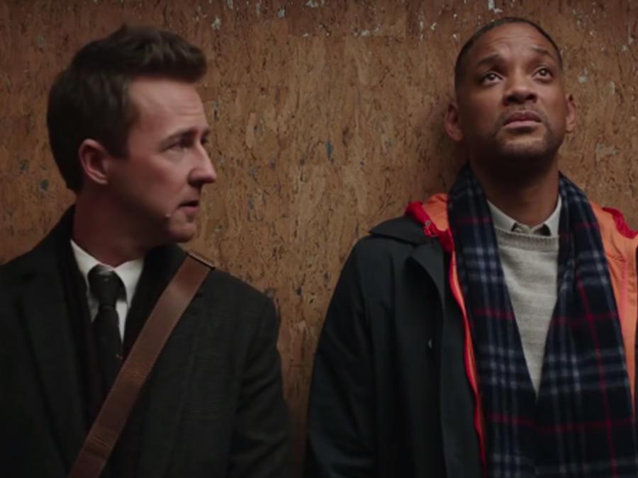 "Will Smith en la película ""Collateral Beauty"""