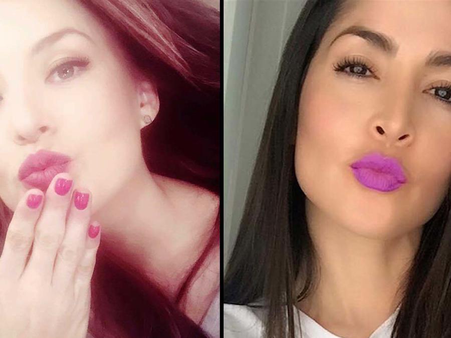 Kissy-face, Angelique Boyer, Carmen Villalobos