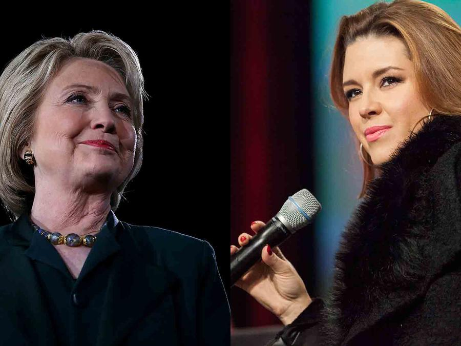 Hillary Clinton apoya a Alicia Machado, la ex Miss Universo de Venezuela