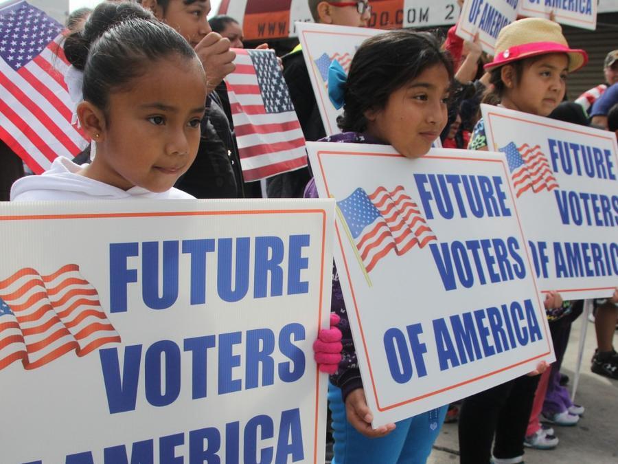 Inmigrantes mexicanos en Los Ángeles
