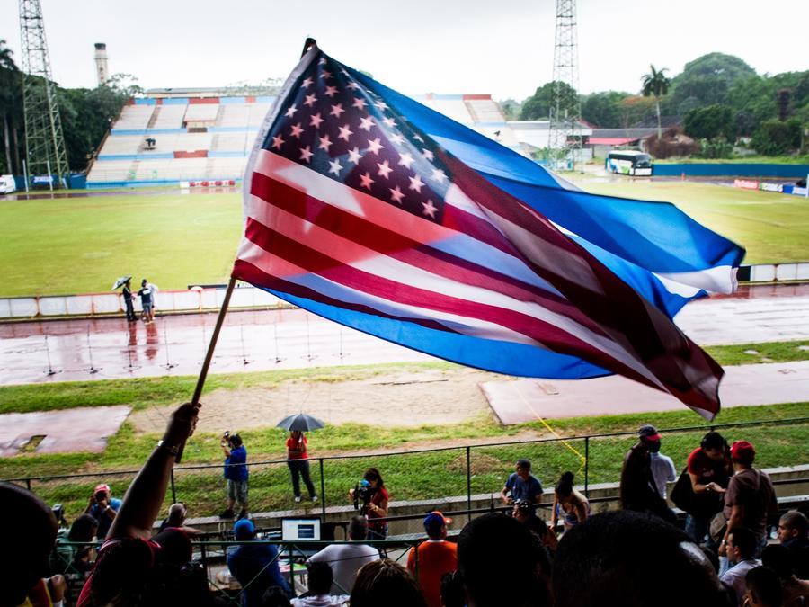 Cuba vs EE.UU. partido amistoso 'La Habana'