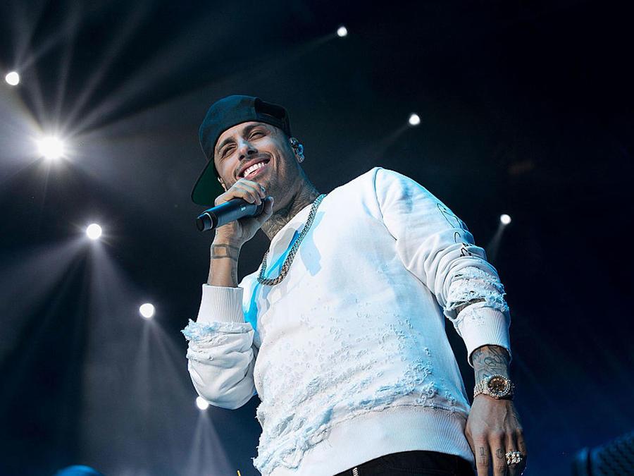 Nicky Jam dio un concierto en Los Ángeles