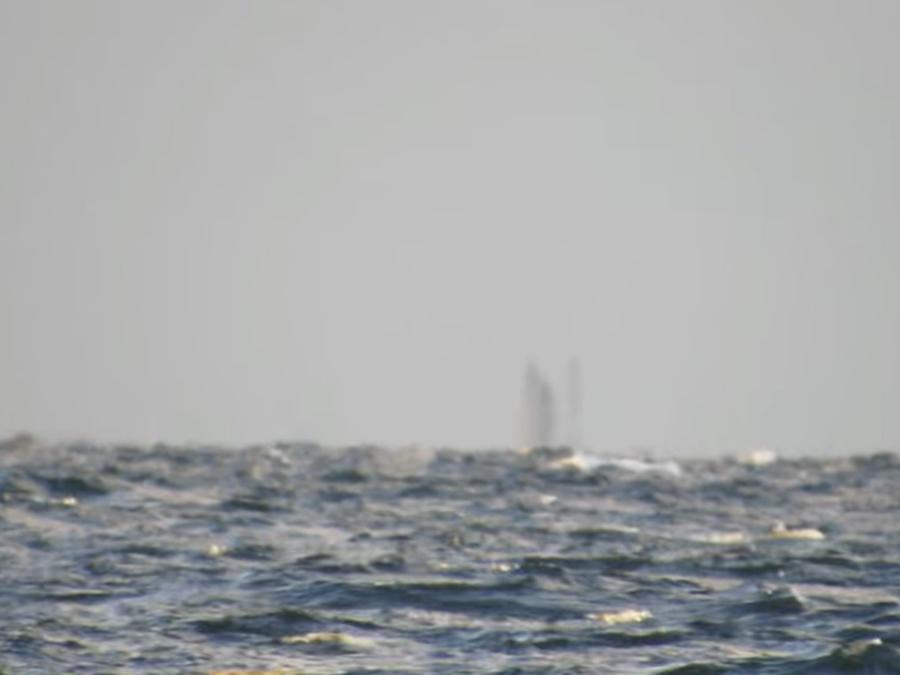 Captan a un supuesto barco fantasma en el Lago Superior de Michigan