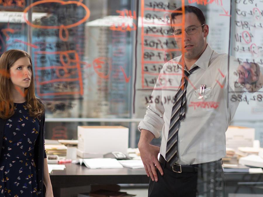 "Ben Affleck en ""The Accountant""."