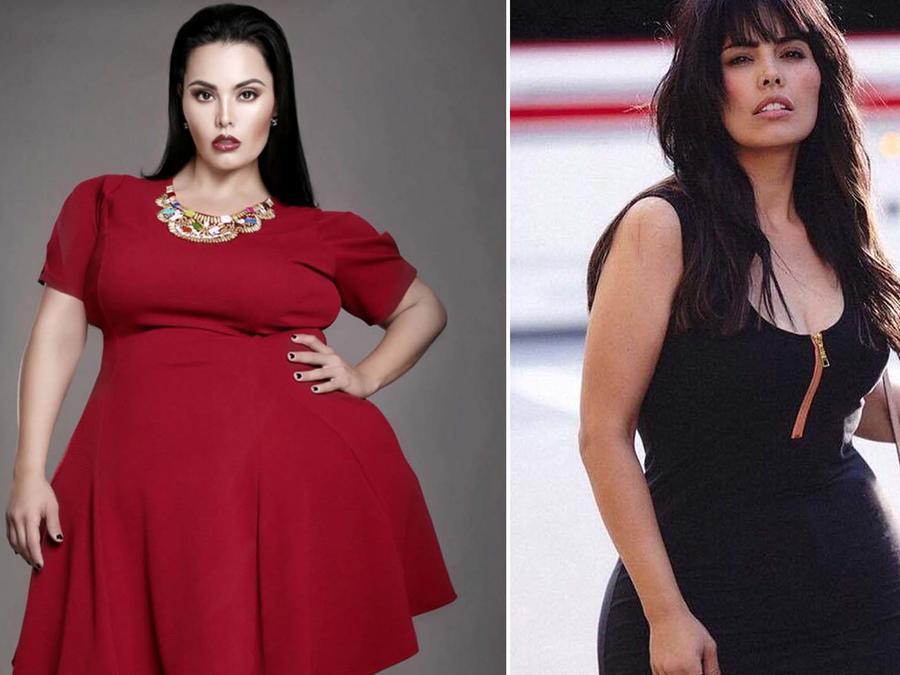 Rosie Mercado antes y después