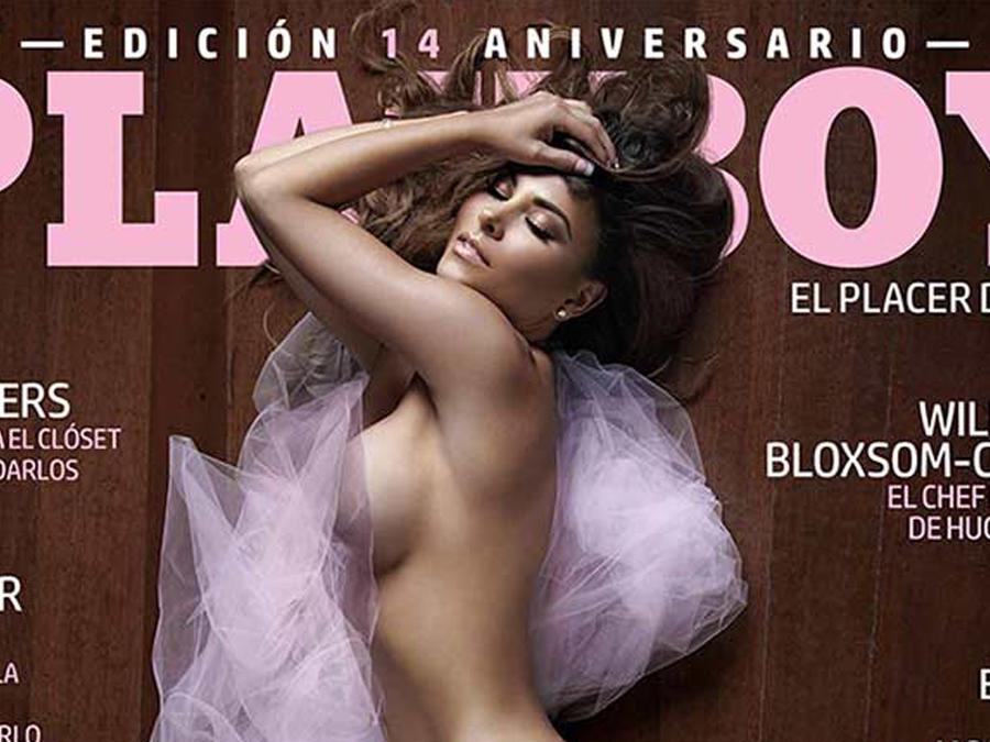 Gaby Ramírez en la portada de la revista Playboy