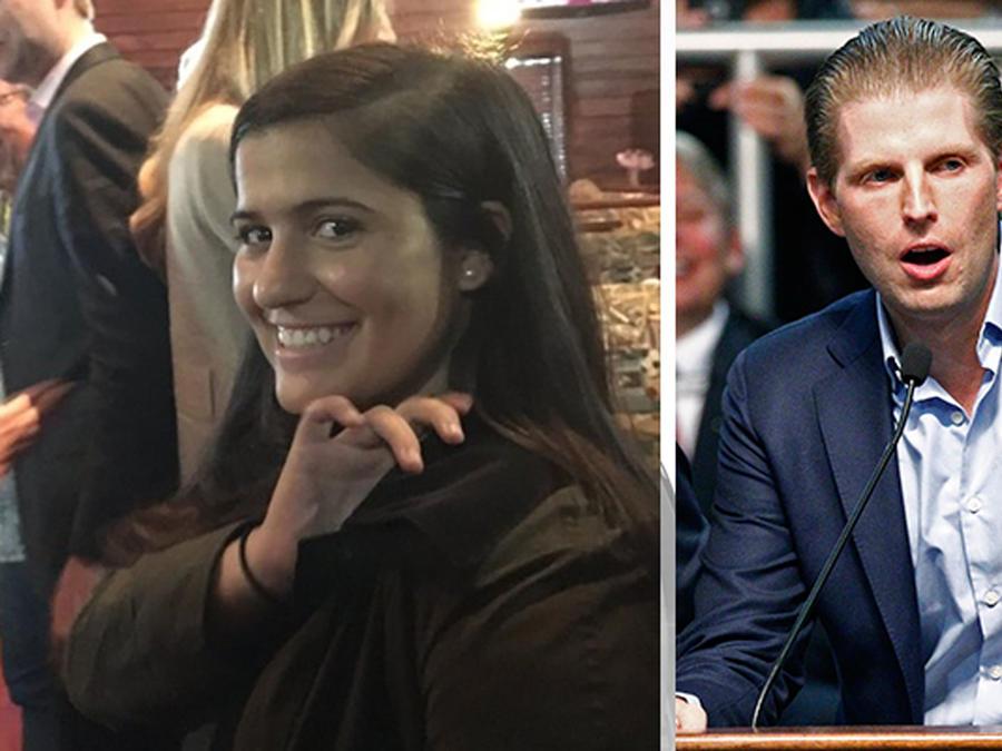 Hispana se burla del hijo de Donald Trump