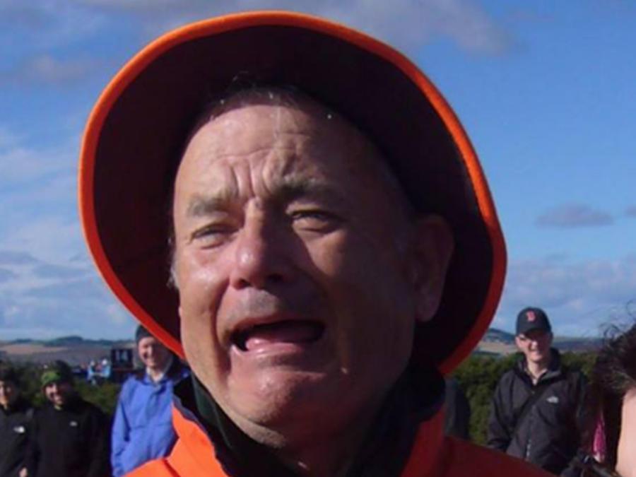 ¿Tom Hanks o Bill Murray?  Esta foto está enloqueciendo a las redes sociales