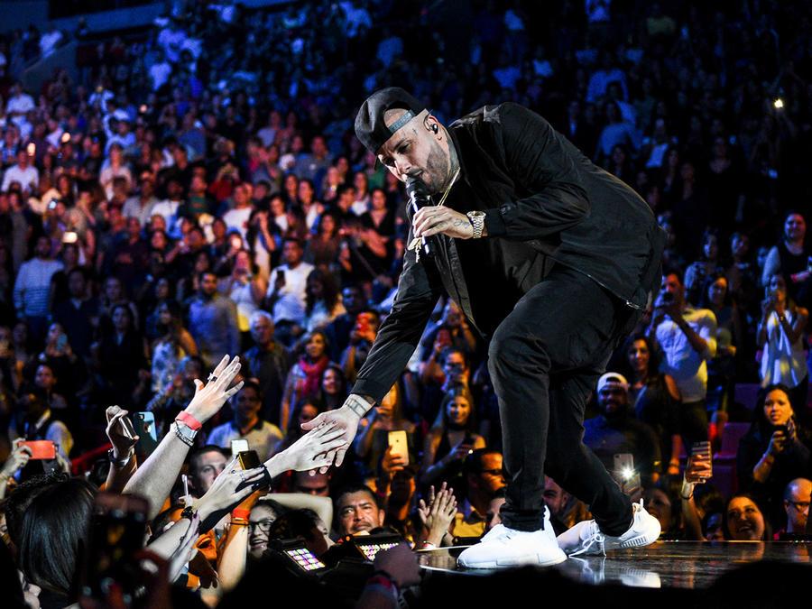Nicky Jam en iHeart Radio Fiesta Latina 2016