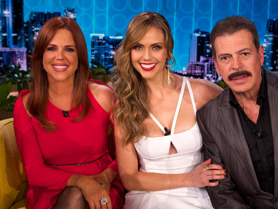 Maria Celeste, Jessica Carrillo y Sergio Goyri