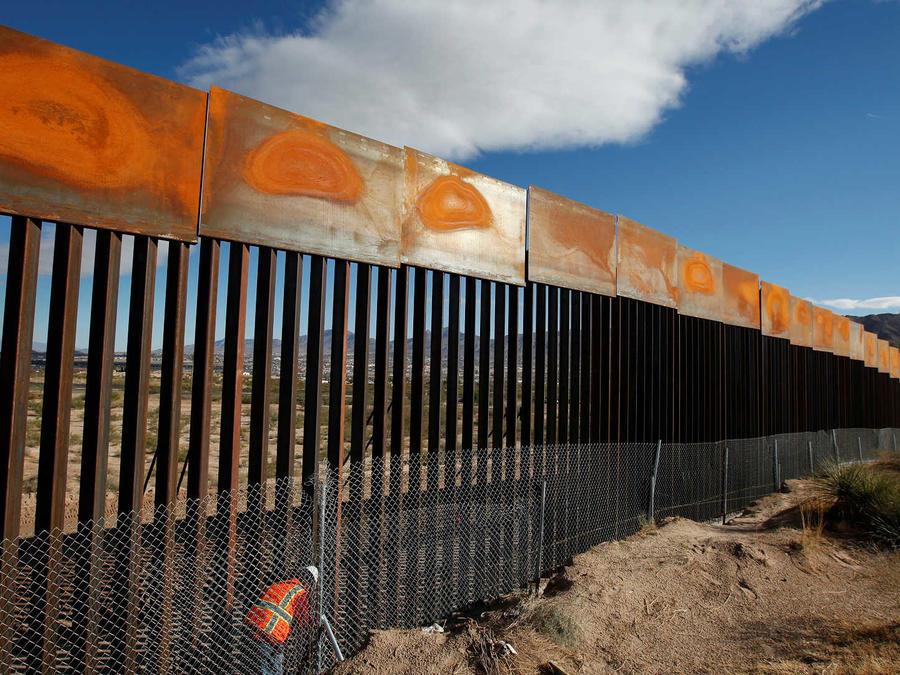 Muro en la frontera de México y EEUU