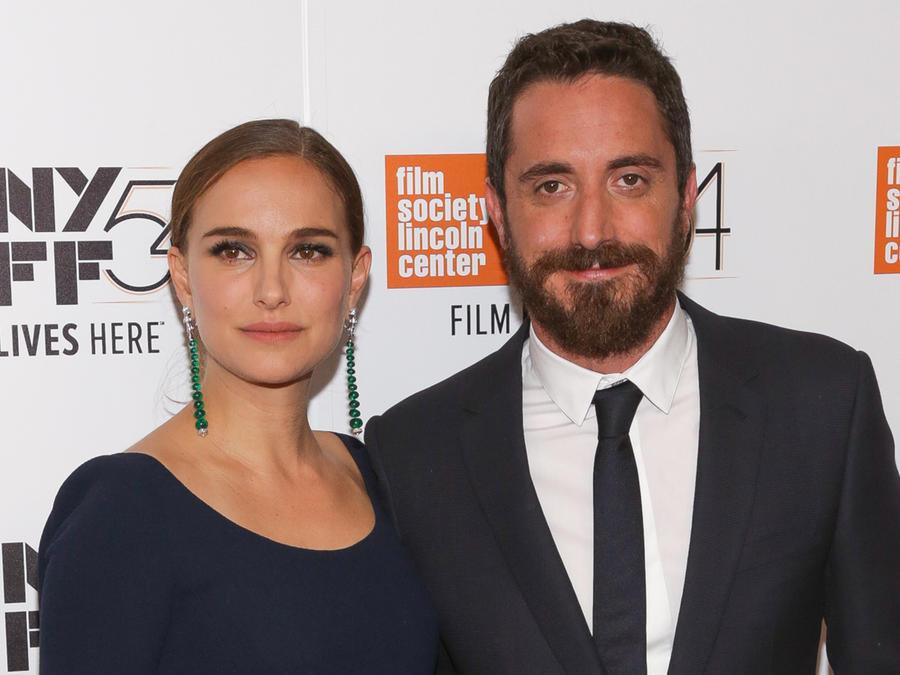 Pablo Larraín y Natalie Portman