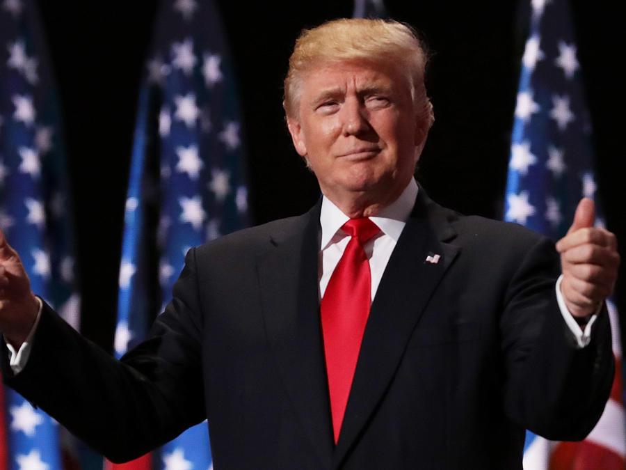 La revista Time designó el miércoles al presidente electo Donald Trump como su Persona del Año.