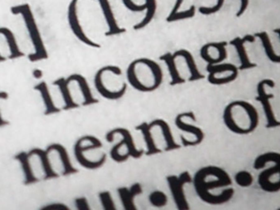Palabras en un diccionario