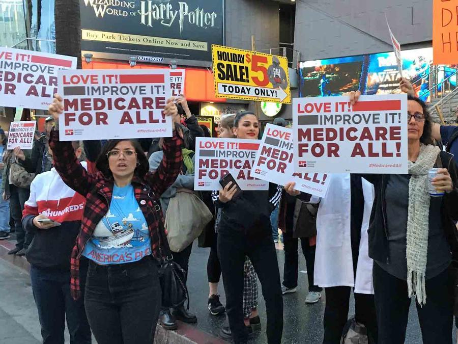 Apoyo a Obamacare