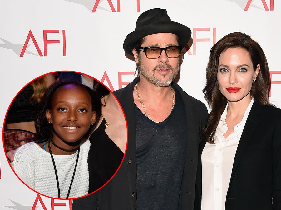 Apareció la madre biológica de Zahara, la hija de Angelina Jolie y Brad Pitt