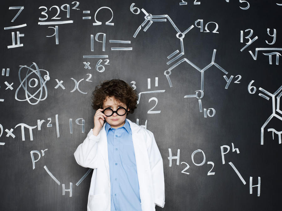 Niño científico