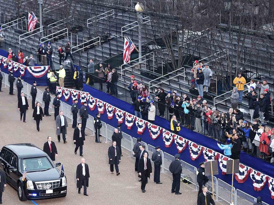 Desfile de inauguración de Donald Trump