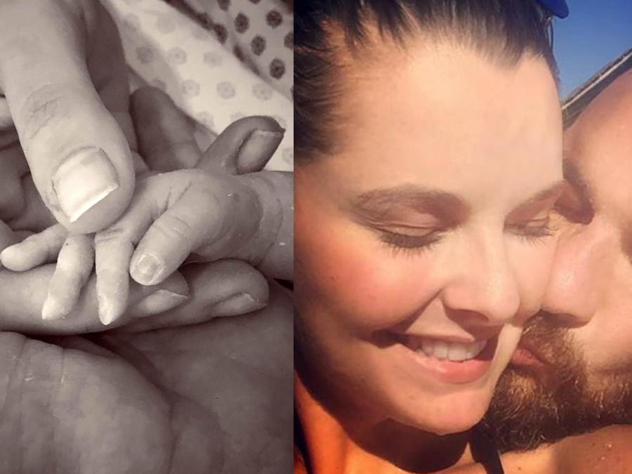 Bebé Julián Gil-Marjorie de Sosa, nuevos padres