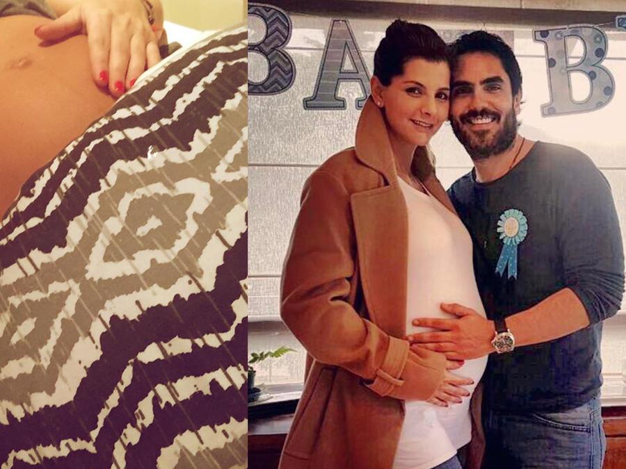 Lincoln Palomeque, Carolina Cruz, embarazo, club de novelas
