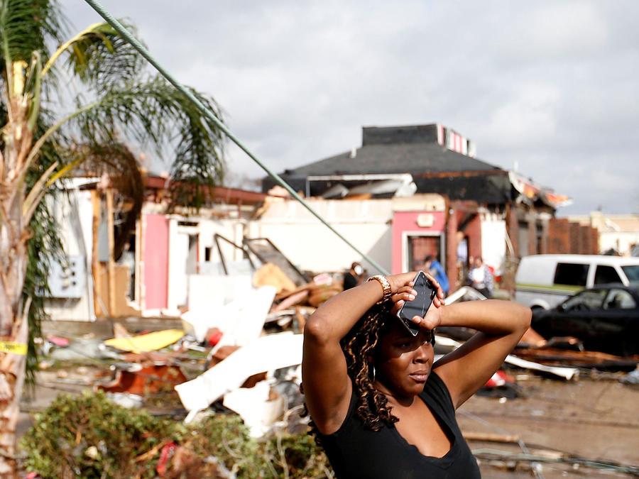 Tornado en Nueva Orleans