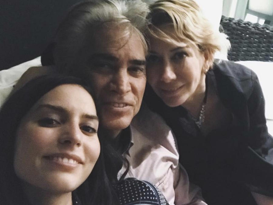 """Génesis Rodríguez, José Luis Rodríguez """"El Puma"""" y Carolina Perez"""