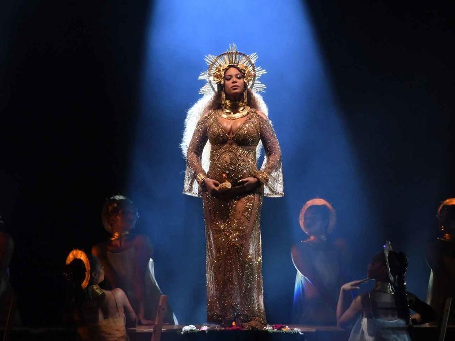 Beyoncé en los Grammys 2017