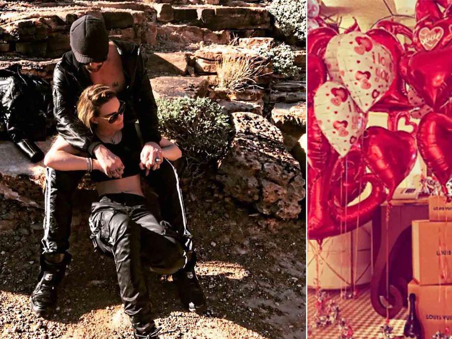 Belinda y Criss Angel celebraron San Valentín
