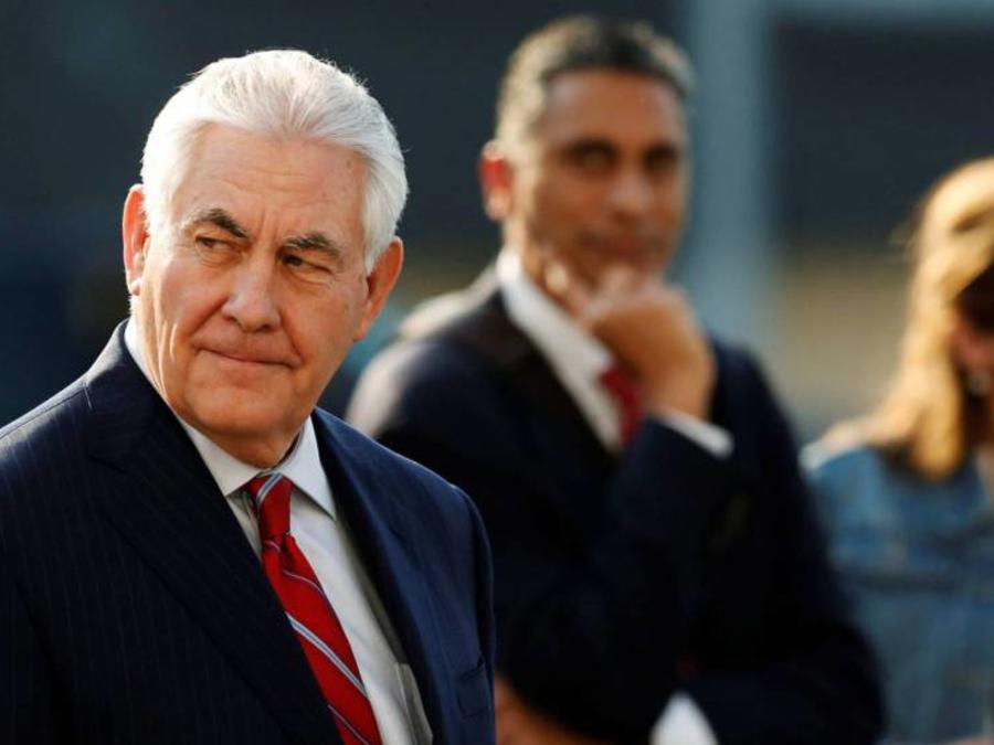 Rex Tillerson, sec. de Estado llega a México