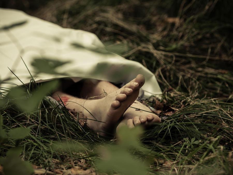 Cadáver de niño