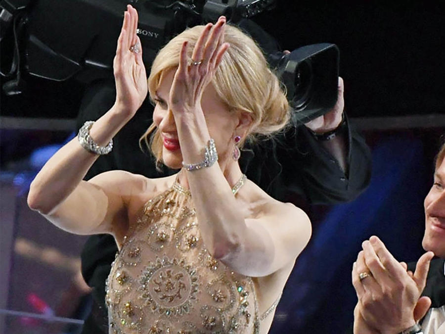 Nicole Kidman en la 89 entrega de los Oscar