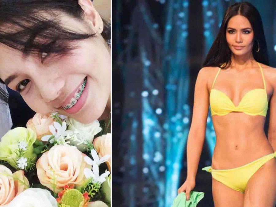 Miss Tailandia 2016 antes y después