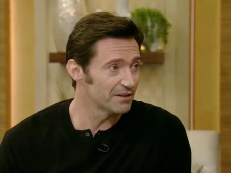 Hugh Jackman en Live! With Kelly